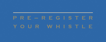 Pre-register your whistle